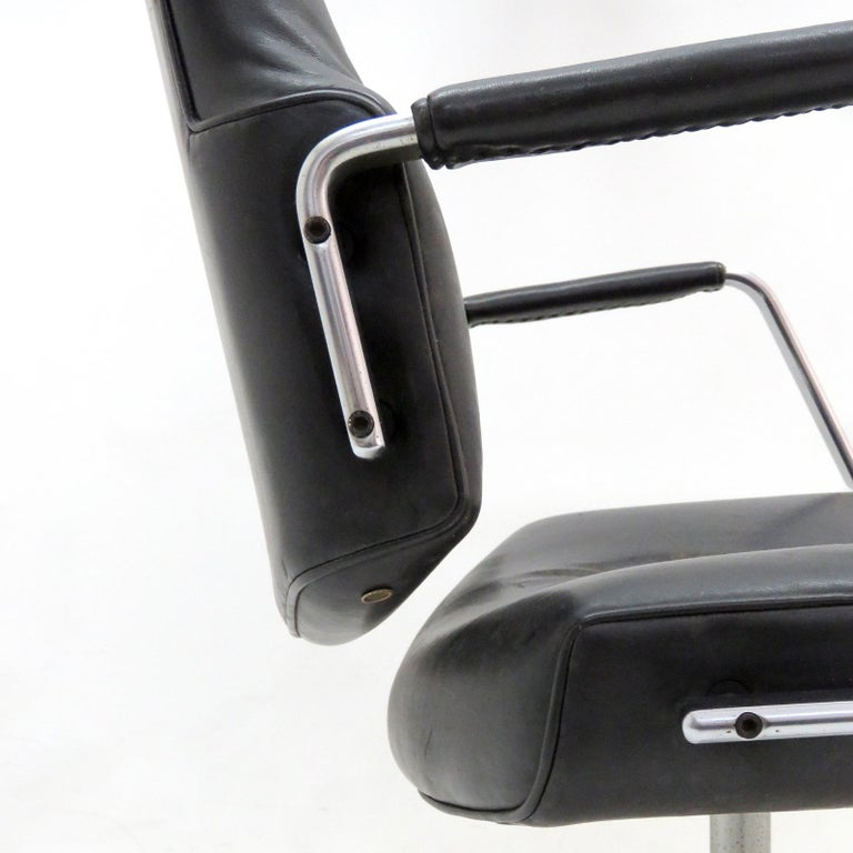 Mid-20th Century Preben Fabricius and Jørgen Kastholm Office Chair Model FK84 For Sale