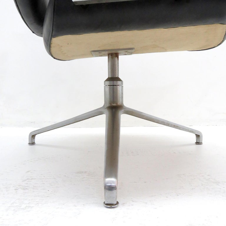 Preben Fabricius and Jørgen Kastholm Office Chair Model FK84 For Sale 1