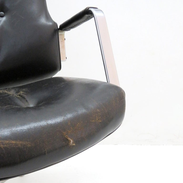 Preben Fabricius and Jørgen Kastholm Office Chair Model FK84 For Sale 3