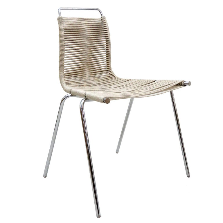 PK-1 Dining Chair by Poul Kjaerholm For Sale