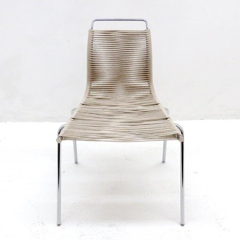 Scandinavian Modern PK-1 Dining Chair by Poul Kjaerholm For Sale