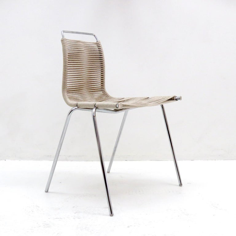 Danish PK-1 Dining Chair by Poul Kjaerholm For Sale