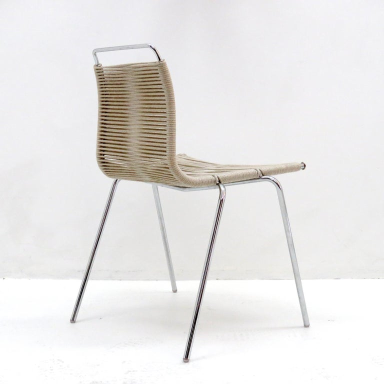 PK-1 Dining Chair by Poul Kjaerholm In Excellent Condition For Sale In Los Angeles, CA