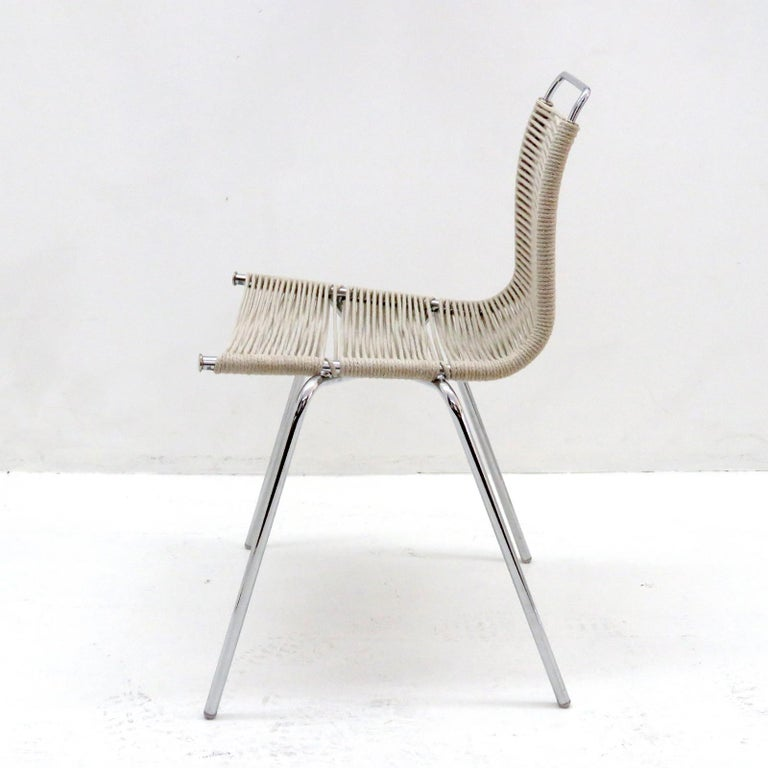 Metal PK-1 Dining Chair by Poul Kjaerholm For Sale