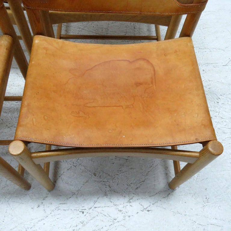 Pair of Børge Mogensen 'Hunting' Chairs, Model 3237 For Sale 1