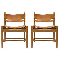 Pair of Børge Mogensen 'Hunting' Chairs, Model 3237