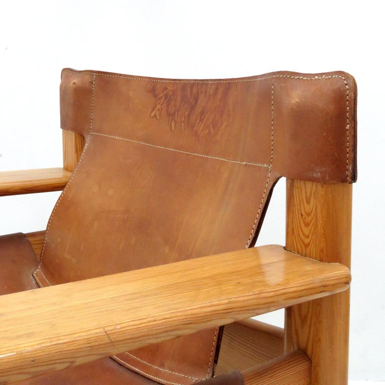 Late 20th Century Leather Lounge Chairs