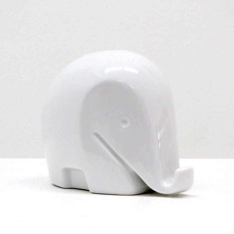 Glazed Porcelain Piggy Bank 'Drumbo' by Luigi Colani, 1970 For Sale