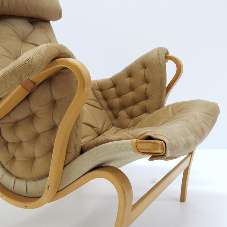 Pernilla Lounge Chairs by Bruno Mathsson for DUX For Sale 2