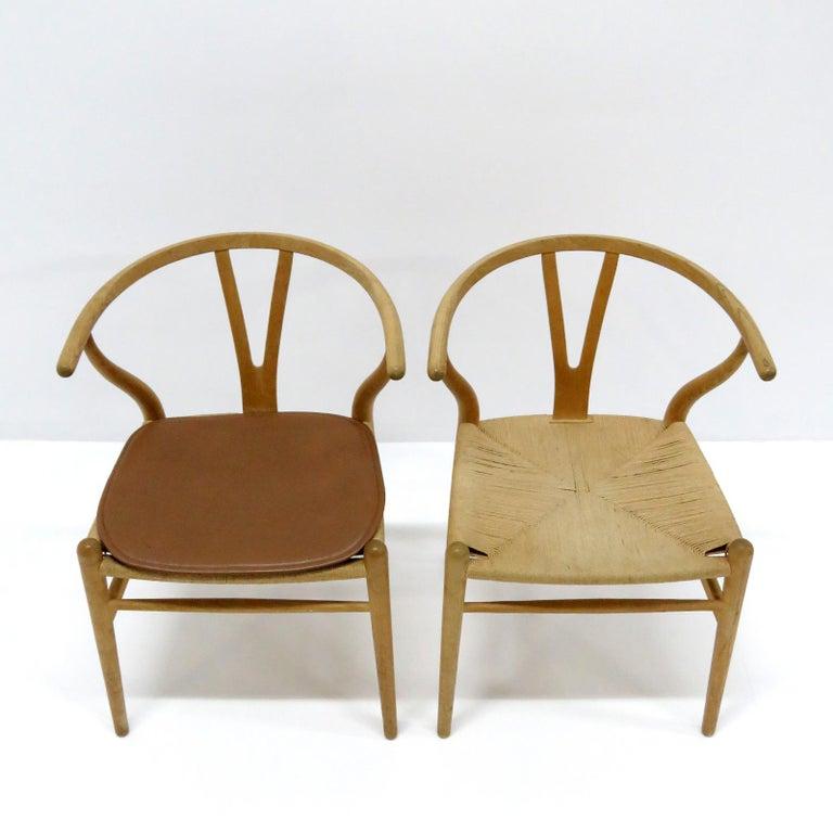 Hans J. Wegner Model CH-24 Dining Chairs, 1950 For Sale 2