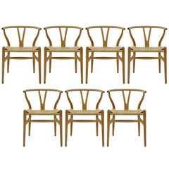 Hans J. Wegner Model CH-24 Dining Chairs, 1950