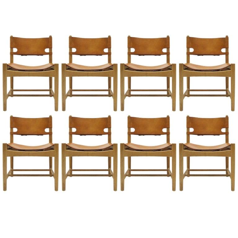 Børge Mogensen 'Hunting' Chairs, Model 3237 For Sale