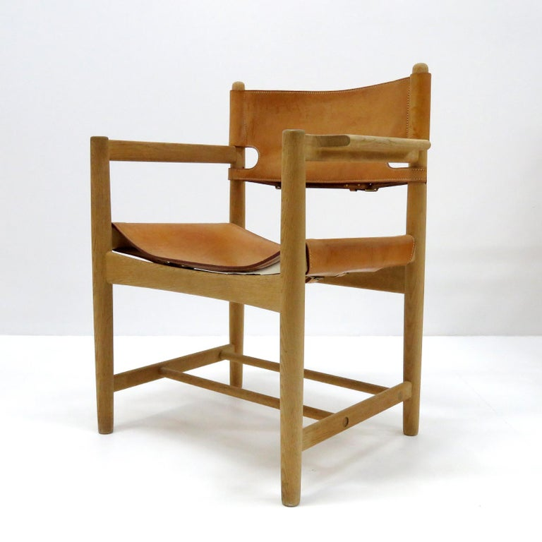 Danish Børge Mogensen 'Hunting' Chairs, Model 3238 For Sale