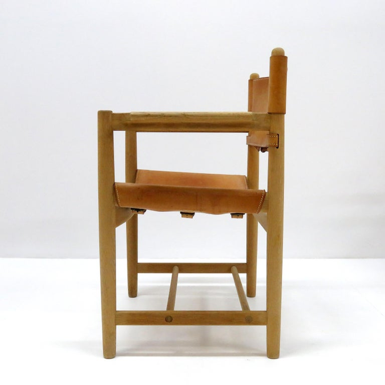 Børge Mogensen 'Hunting' Chairs, Model 3238 In Good Condition For Sale In Los Angeles, CA