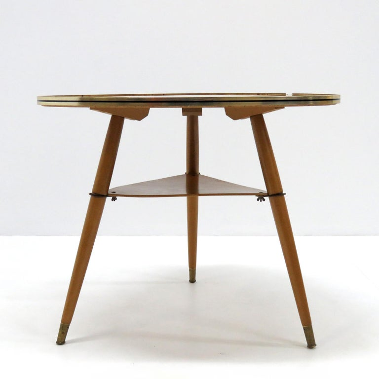 Mid-Century Modern German Side Table, 1960 For Sale