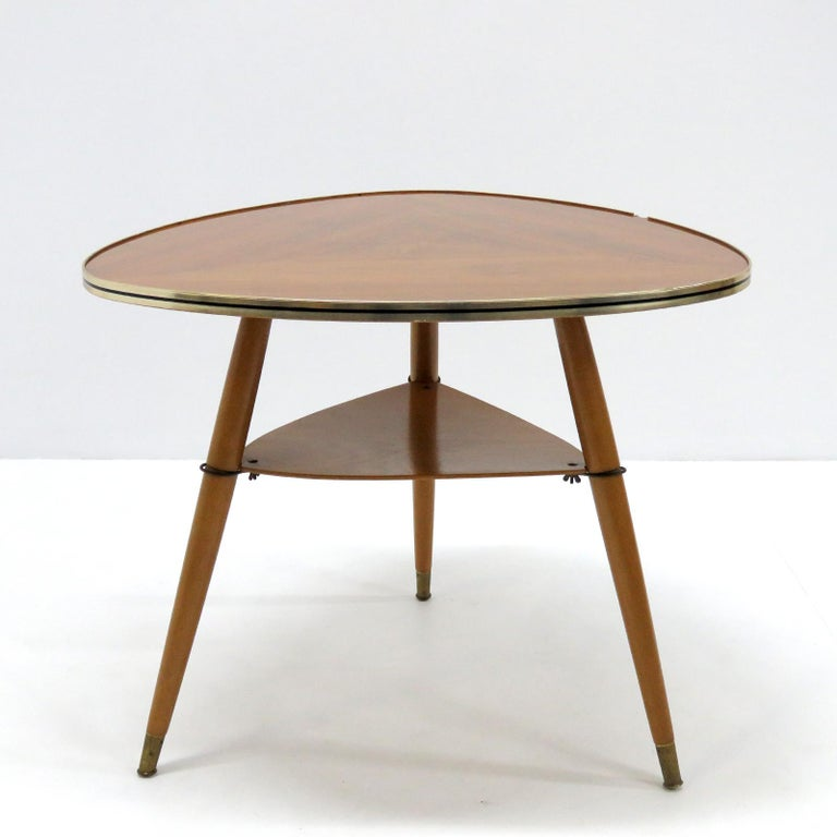 German Side Table, 1960 In Good Condition For Sale In Los Angeles, CA