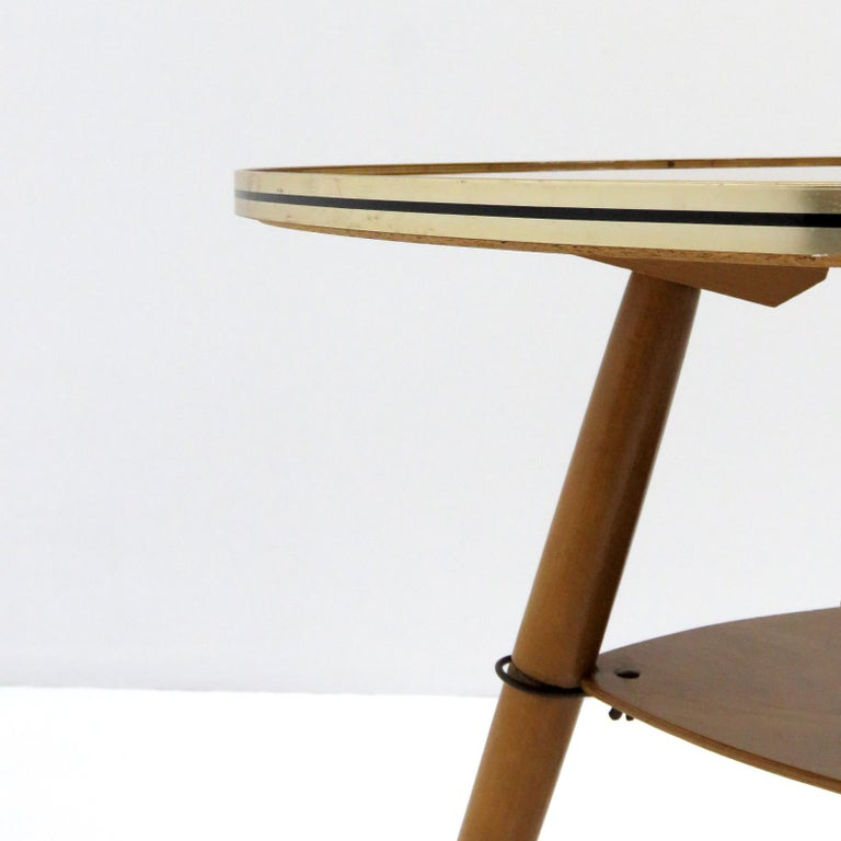 Brass German Side Table, 1960 For Sale
