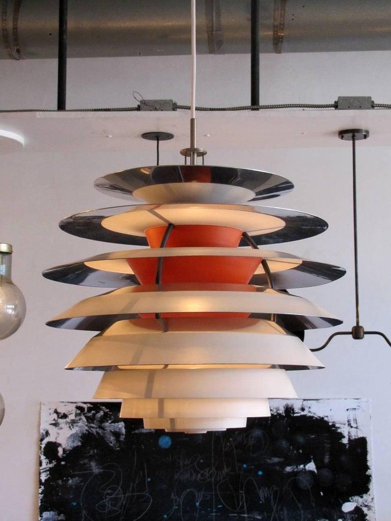 Aluminum Poul Henningsen Kontrast Lamp For Sale