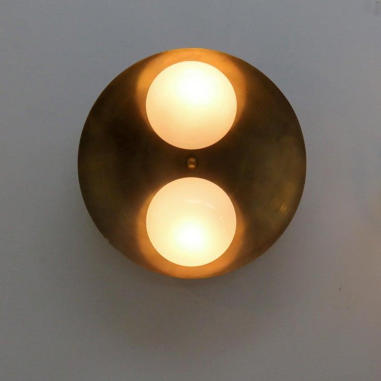 Contemporary Flush Mount Light