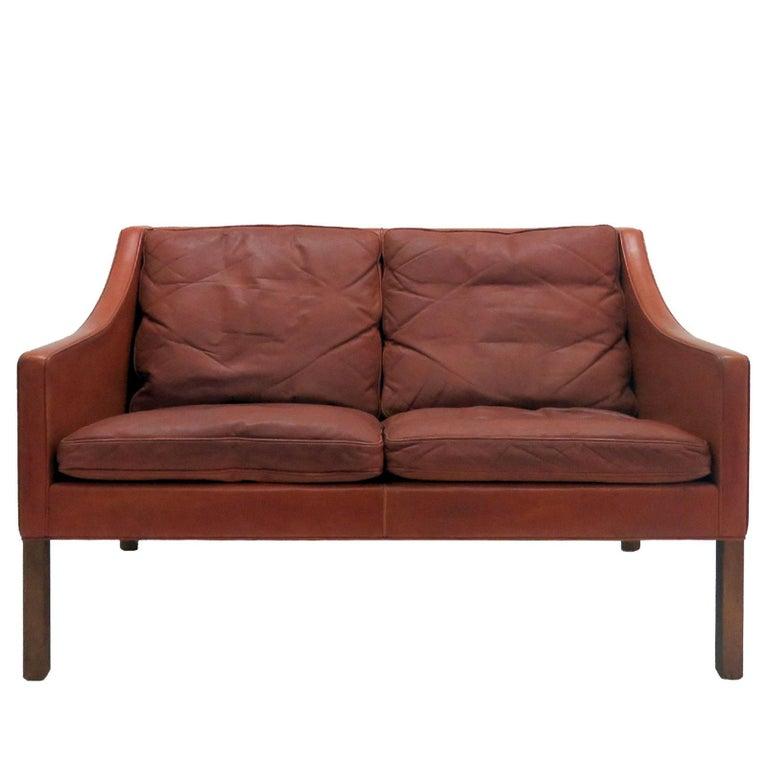 Børge Mogensen Model #2208 Two-Seat Sofa 1