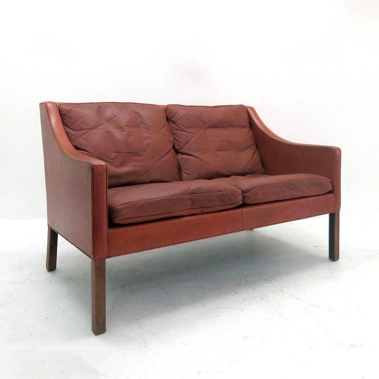 Børge Mogensen Model #2208 Two-Seat Sofa 2
