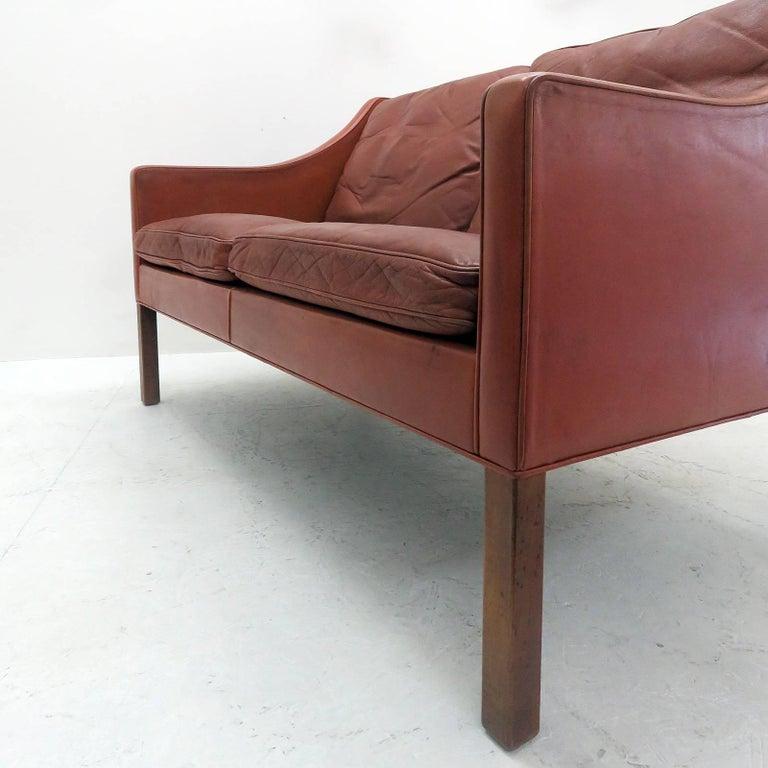 Børge Mogensen Model #2208 Two-Seat Sofa 9