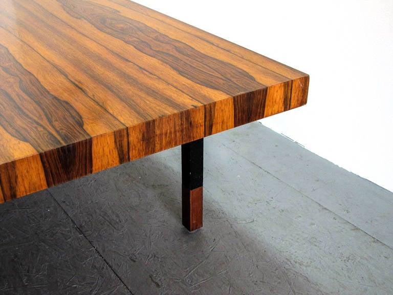 Danish Rosewood and Steel Coffee Table 6