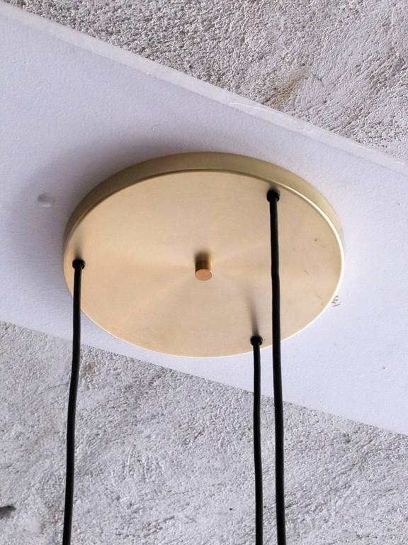Large Staff Pendant Lights In Excellent Condition For Sale In Los Angeles, CA