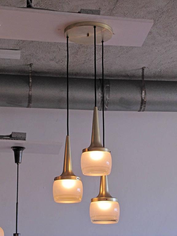 Mid-20th Century Large Staff Pendant Lights For Sale