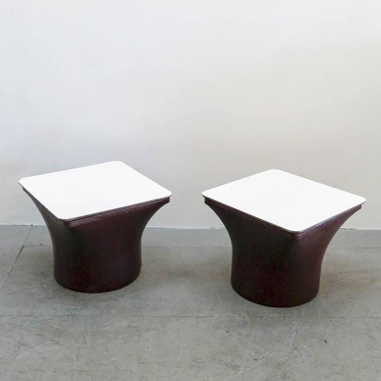 pierre paulin for artifort side tables at 1stdibs. Black Bedroom Furniture Sets. Home Design Ideas