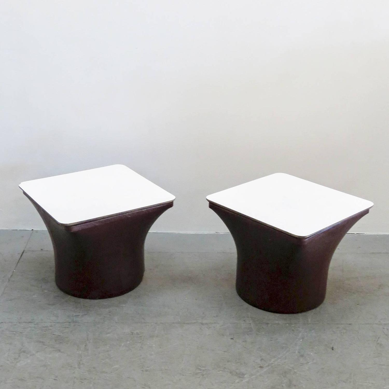 pierre paulin for artifort side tables at 1stdibs. Black Bedroom Furniture Sets. Home Design Ideas