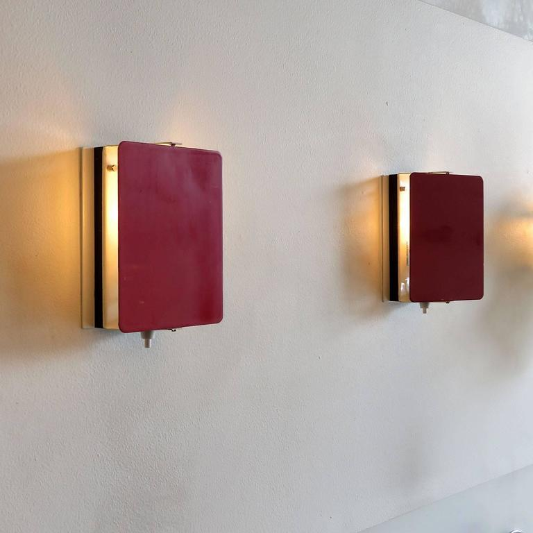 CP-1 Wall Lights by Charlotte Perriand For Sale 2