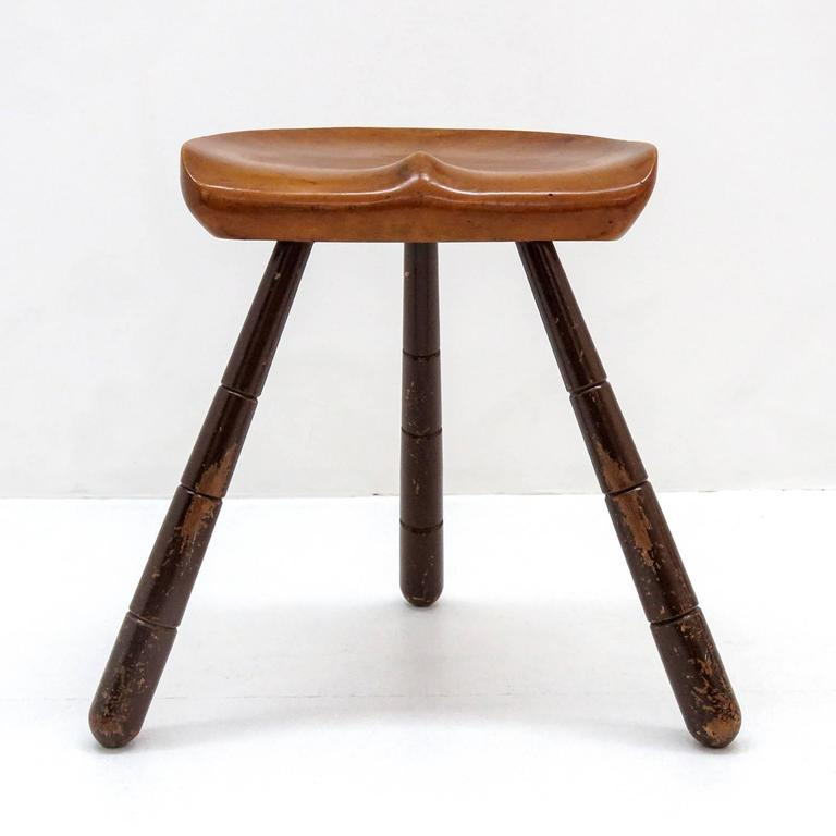 Three Legged Milking Stool 1940 For Sale At 1stdibs
