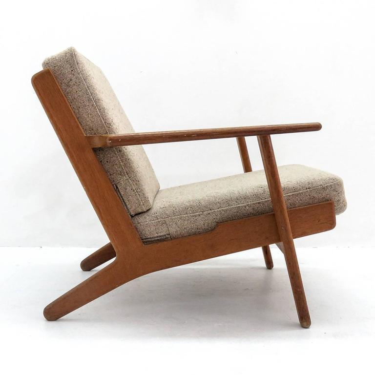 Danish Hans J. Wegner GE 290 Lounge Chair For Sale