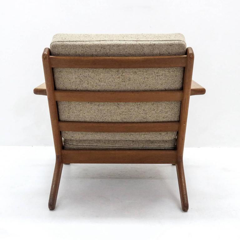 Mid-20th Century Hans J. Wegner GE 290 Lounge Chair For Sale