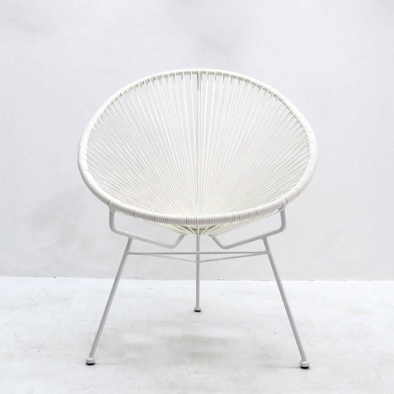 French Pair Of Acapulco Chairs For Sale