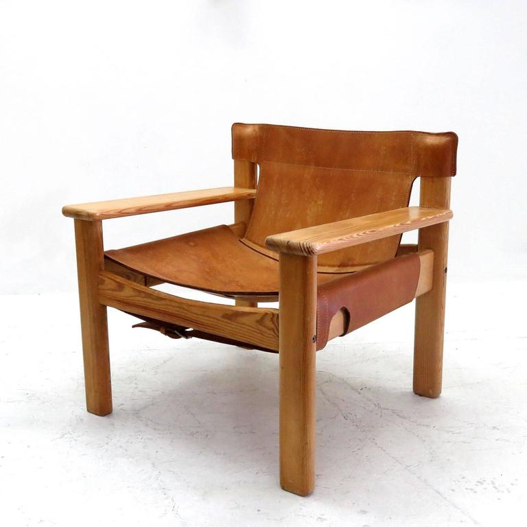 Karin Mobring Quot Natura Quot Leather Lounge Chairs At 1stdibs