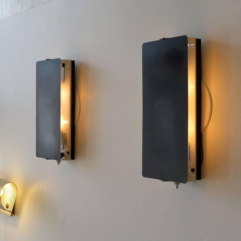 Metal Large CP-1 Wall Light by Charlotte Perriand For Sale
