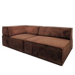danish leather sofa 1960 for sale at 1stdibs. Black Bedroom Furniture Sets. Home Design Ideas