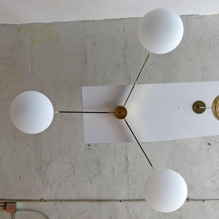Contemporary NL-3 Chandelier For Sale