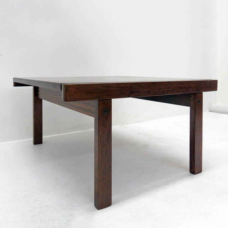 Scandinavian Modern Coffee Table by Torbjørn Afdal for Bruksbo, Norway, 1960 For Sale