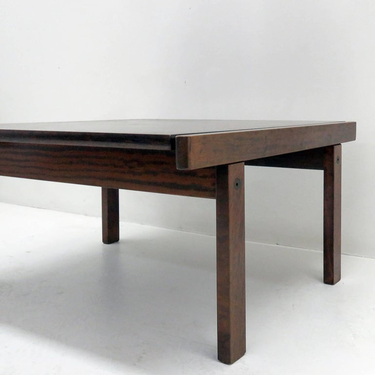 Norwegian Coffee Table by Torbjørn Afdal for Bruksbo, Norway, 1960 For Sale