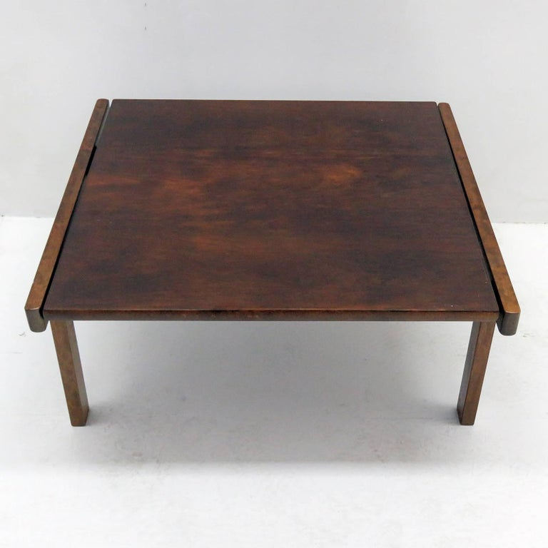 Coffee Table by Torbjørn Afdal for Bruksbo, Norway, 1960 In Excellent Condition For Sale In Los Angeles, CA