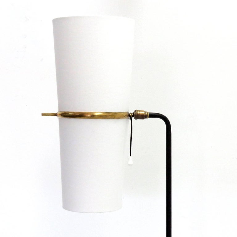 French 1950s Floor Lamp by Maison Lunel For Sale