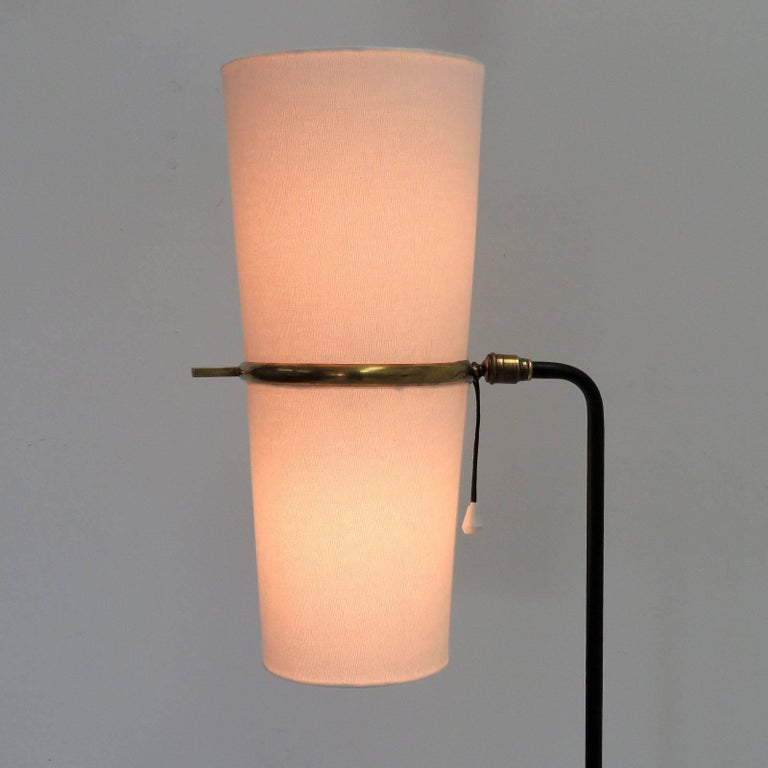 1950s Floor Lamp by Maison Lunel For Sale 1