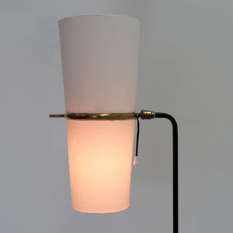 1950s Floor Lamp by Maison Lunel For Sale 2