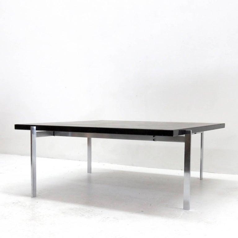 Plated Poul Kjaerholm PK61 for E. Kold Christensen Coffee Table For Sale