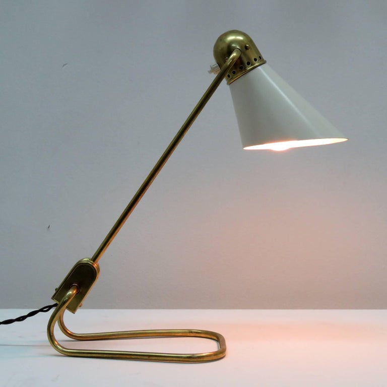 French Table Lamp for Jumo 9