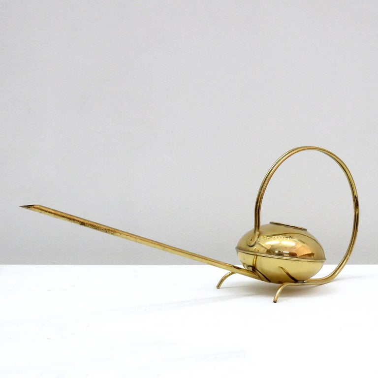 German Brass Watering Can, 1960 5