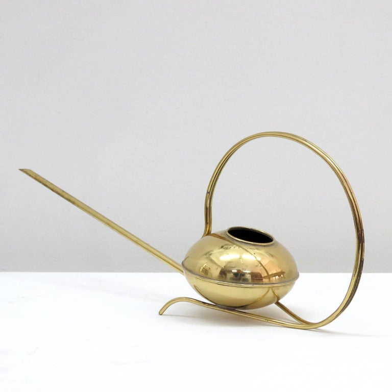 German Brass Watering Can, 1960 4